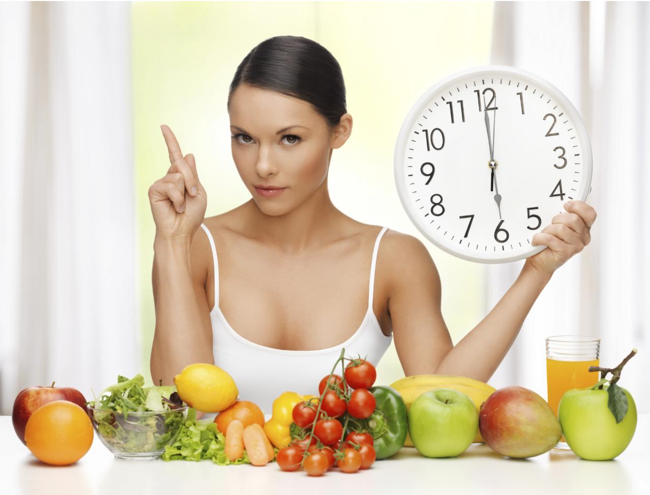 regime chrono nutrition