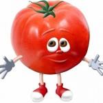 tomate pour coup de soleil