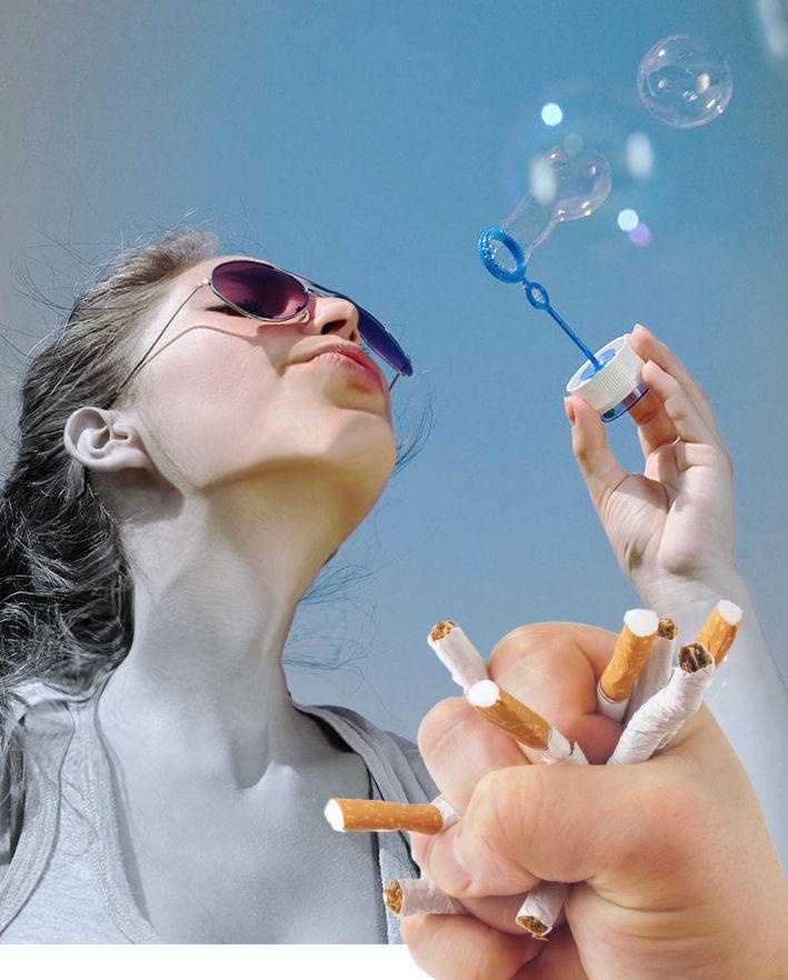 anxiete arreter fumer