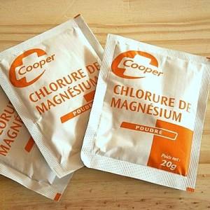Bienfait du chlorure de magnesium