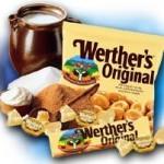 Glace aux Werters Original's sans gluten