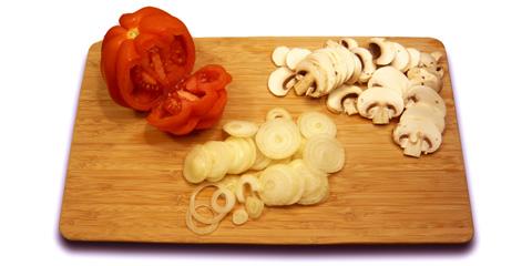 Choix de la planche à decouper dans cuisine